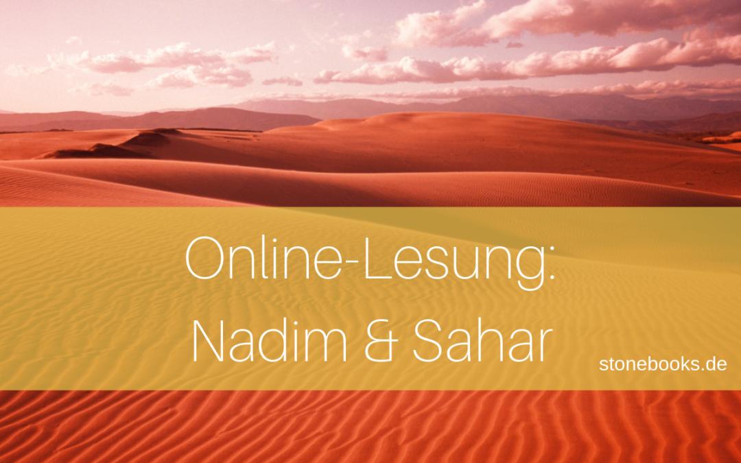 Online-Lesung: Nadim und Sahar