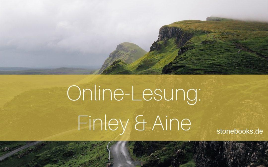 Online-Lesung: Finley und Aine