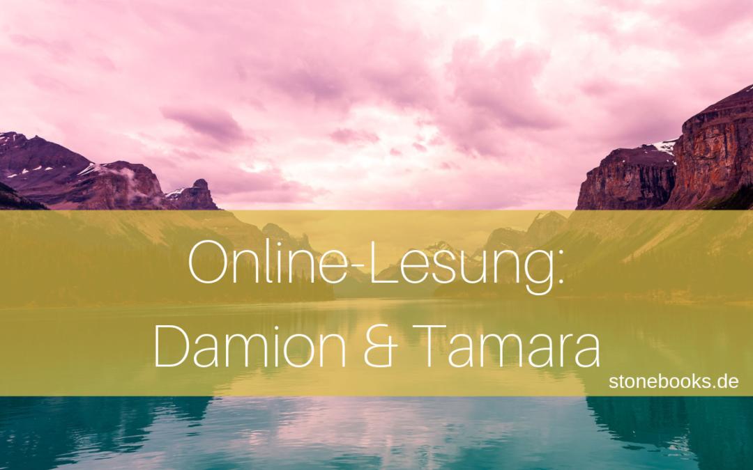 Online-Lesung_Damion und Tamara